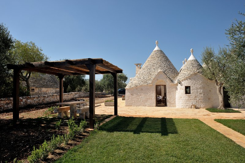 18th century Trullo house recently renovated
