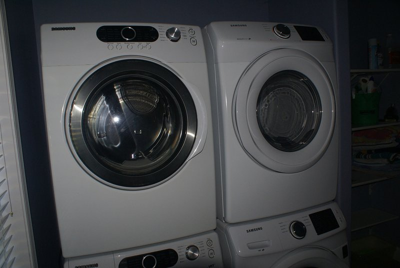 Vacation time... no need to wait on laundry - two washers and two dryers!