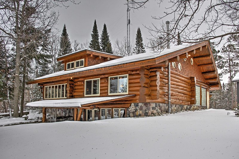 For the ultimate Minnesota getaway, escape to this cozy 4-bedroom, 2.5-bathroom vacation rental cabin in Deer River that comfortably sleeps 16!