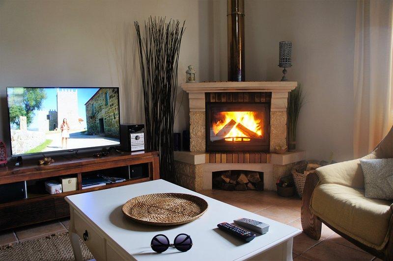 Living / fireplace