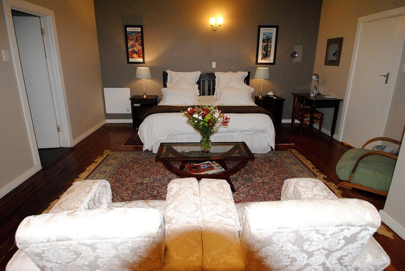 A beautiful main bedroom upstairs
