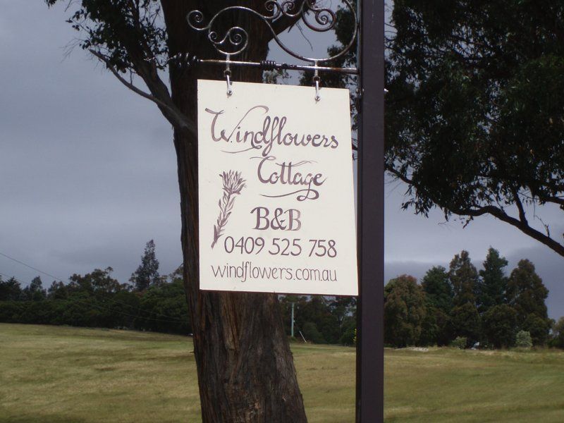 Our entrance sign 609 Silver Hill Rd Lower Wattle Grove