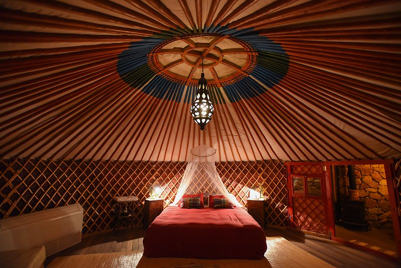 THE Desert YURT williams house eilat, alquiler de vacaciones en Eilat