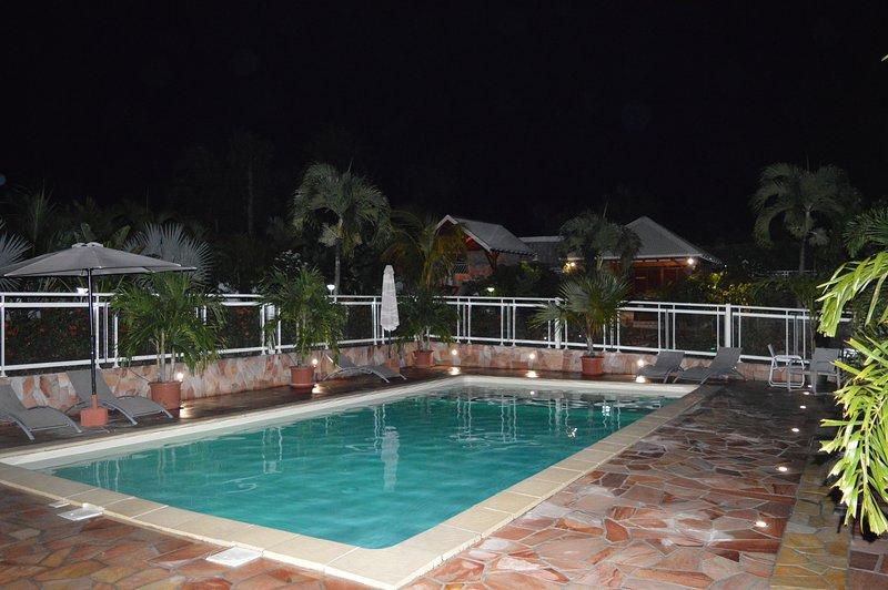 Etal Paradise, un Paradis Tropical à Sainte-Anne ( Citron Vert), alquiler de vacaciones en Guadalupe