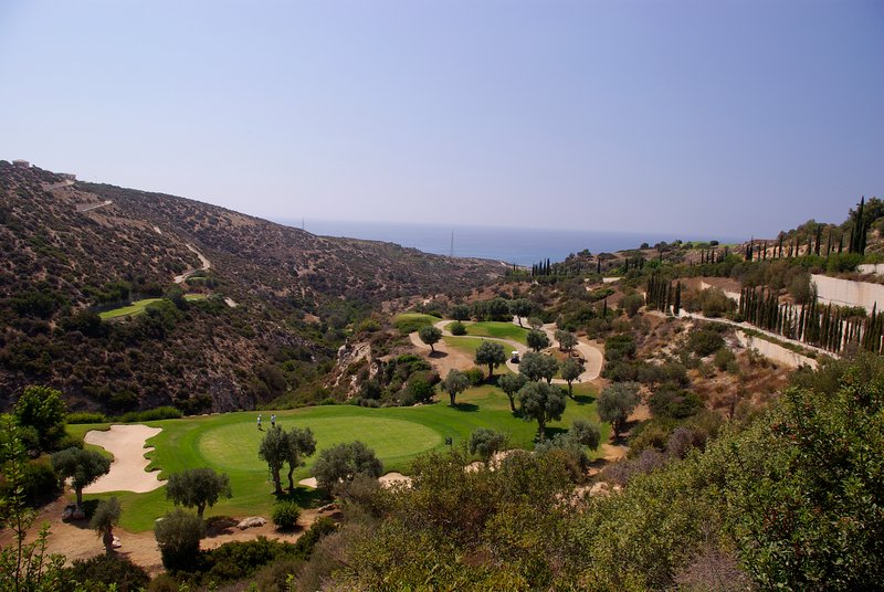 Aphrodite Hills Course - one of Europe's finest. There's also horse riding, tennis courts and more..