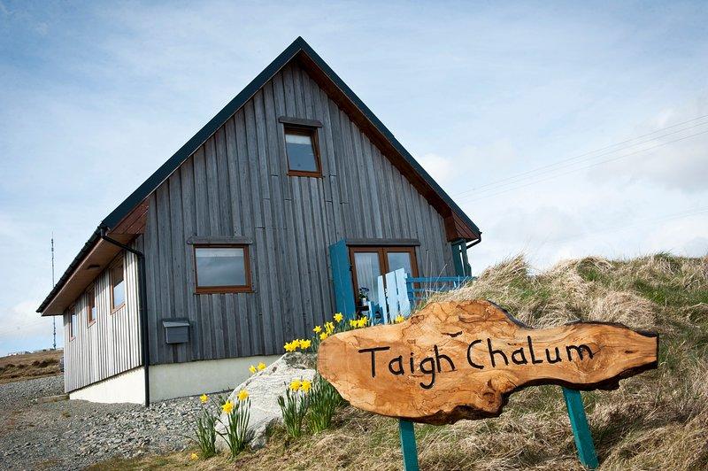 Taigh Chalum, Achmore, Isle of Lewis: Charmante petite maison de 2 chambres, situé dans la plus belle vista.