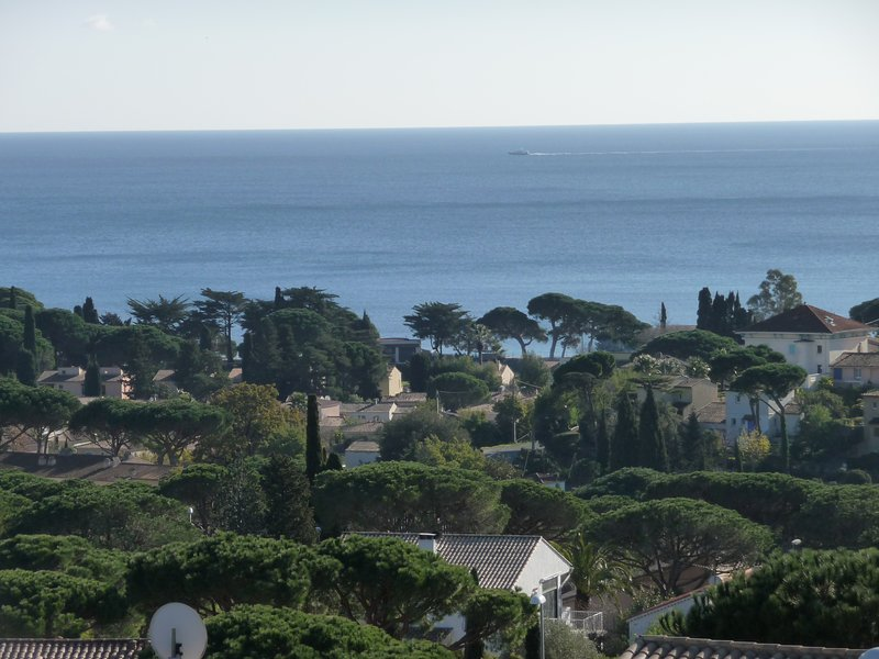 Θέα στη θάλασσα σε όλη την Golfe de St Tropez
