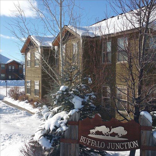First Floor Buffalo Junction Condo!- CANCELLATION SPECIAL, vacation rental in Driggs