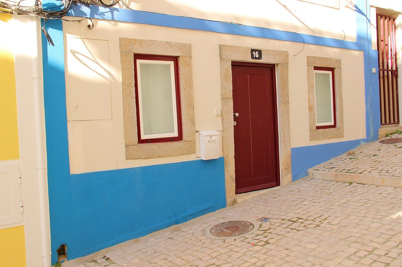 Maison Sesimbra - Plage : Les pieds dans l'eau, location de vacances à Setubal District