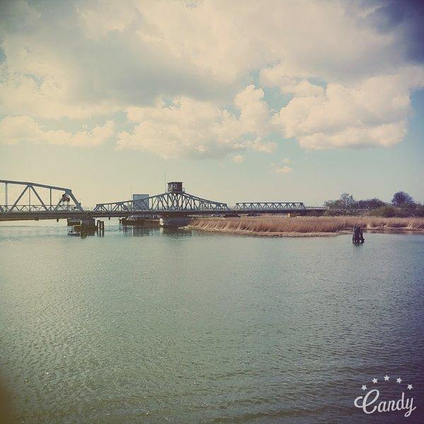 Brücke zwischen Zingst und Bresewitz
