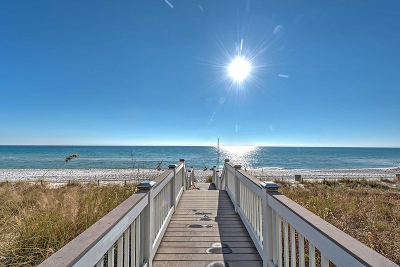 Forget all of your worries at this Panama City Beach vacation rental condo!