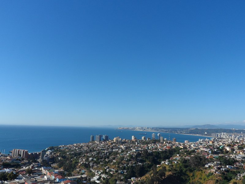 View from the Terrace Building, Bahia Vina del Mar