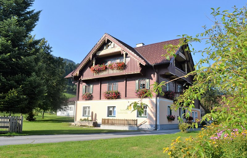 Big house with mountain view & Wifi, holiday rental in Michaelerberg