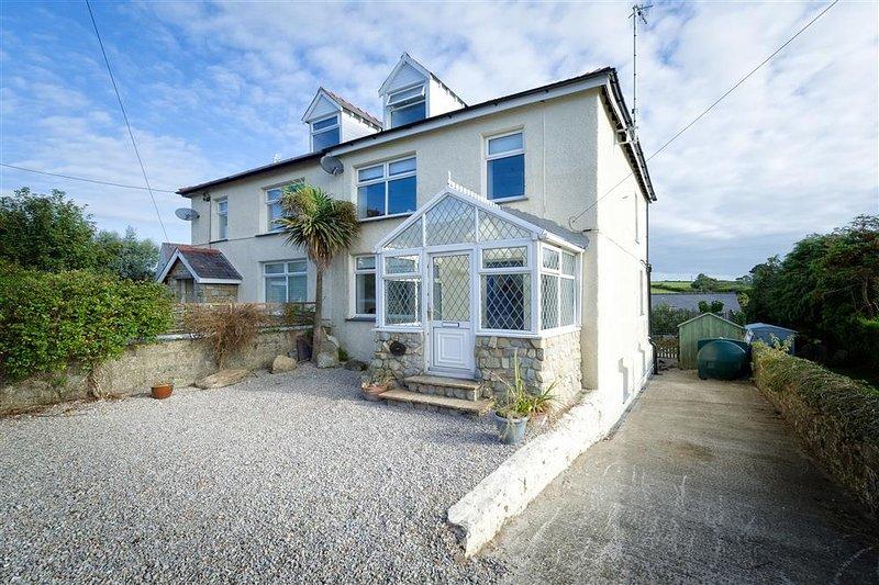 Gwelfryn House & Garden Flat, vacation rental in Abersoch
