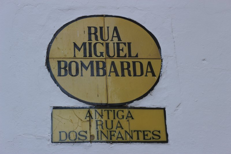 The name of the street