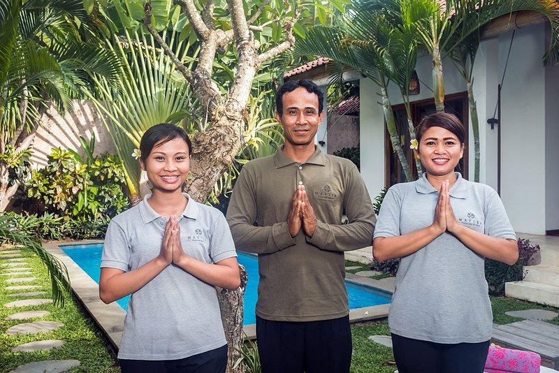 El personal completado de Villa Bisi