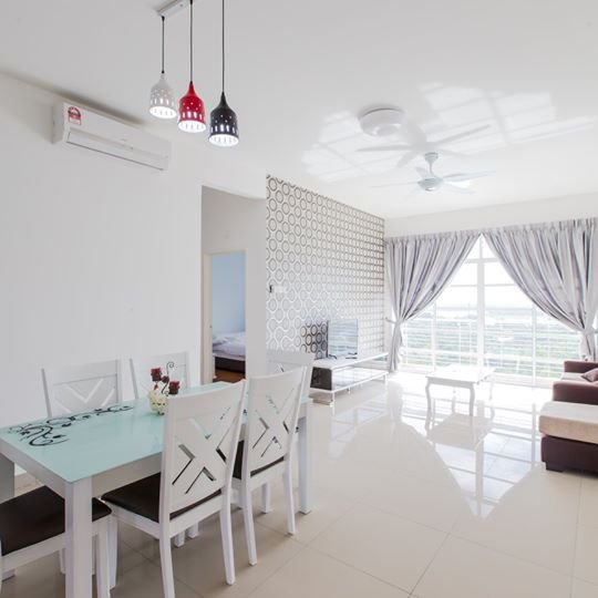 12stay.my Nusa Heights Apartment (3Bedroom) A1402, holiday rental in Gelang Patah