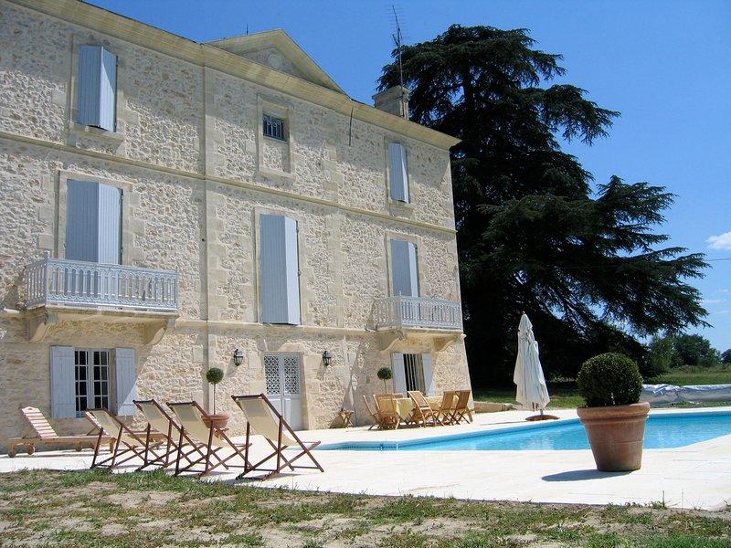 Château  au coeur du Sauternais, holiday rental in Pujols-Sur-Ciron