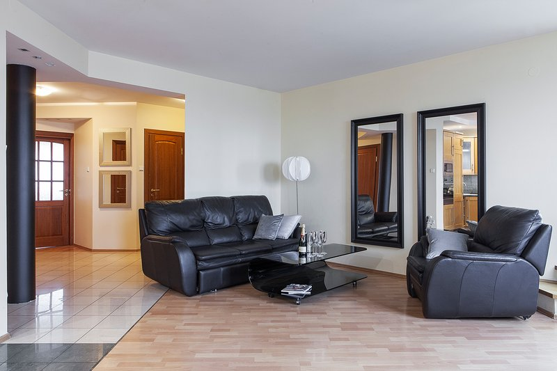 PARTY Penthouse with Jacuzzi Sauna!, vacation rental in Warsaw