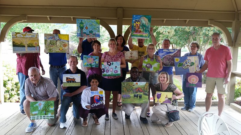 Art weekends, paint parties, private lessons and workshops, come and paint with us!