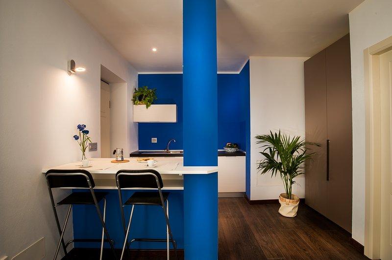 Arc en Ciel Appartamenti-vacanze 'Blu', alquiler de vacaciones en Berzano di San Pietro