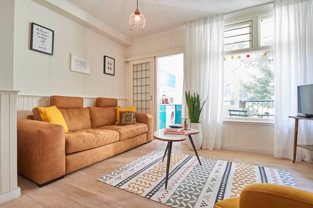 Trendy and perfectly located apartment with balcony, holiday rental in Zaandam