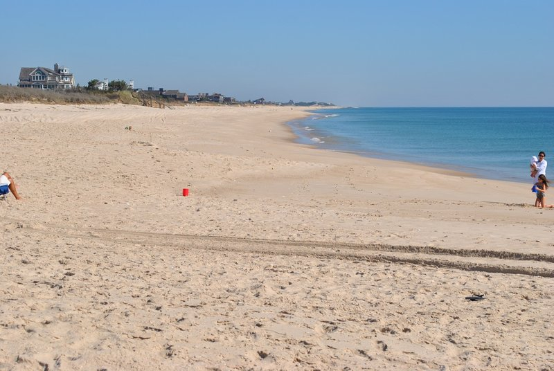 One of the many beaches in the Hamptons