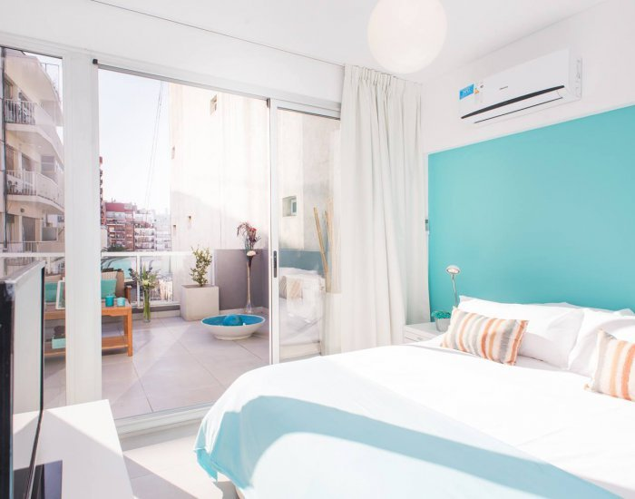 Buenos Aires - Light Blue Terrace - Bedroom