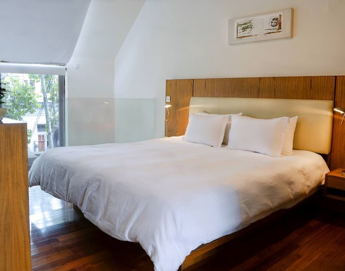 Buenos Aires - Penthouse Loft - Bedroom