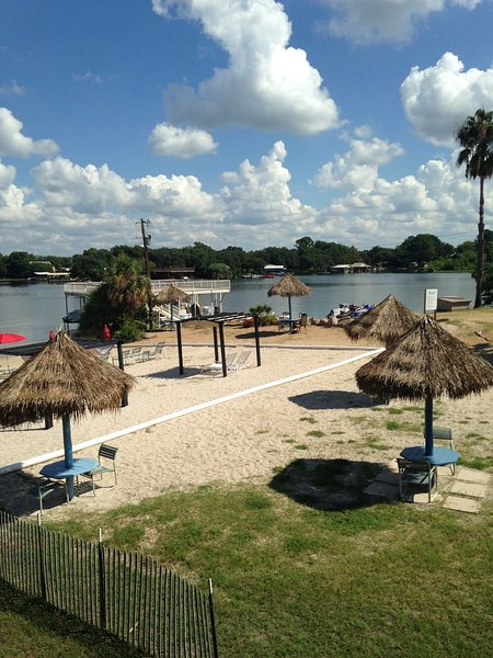 Our beautiful beach on Lake LBJ