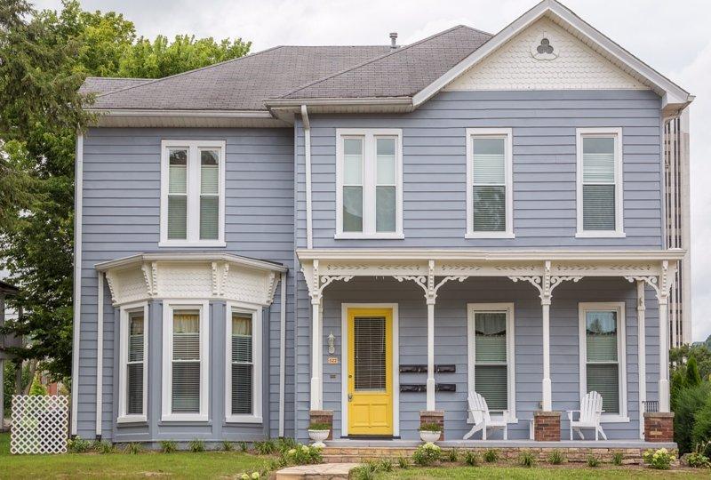 Maison historique au coeur du centre-ville de Francfort, Kentucky.