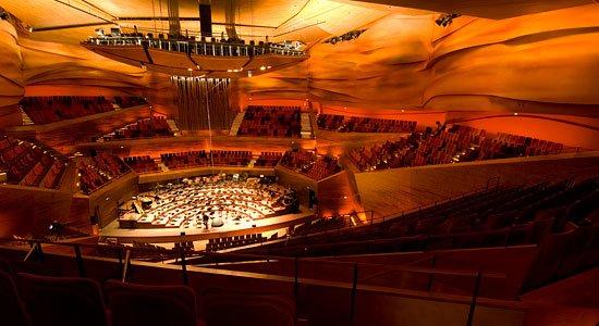 Intérieur Concert Hall, Koncerthuset