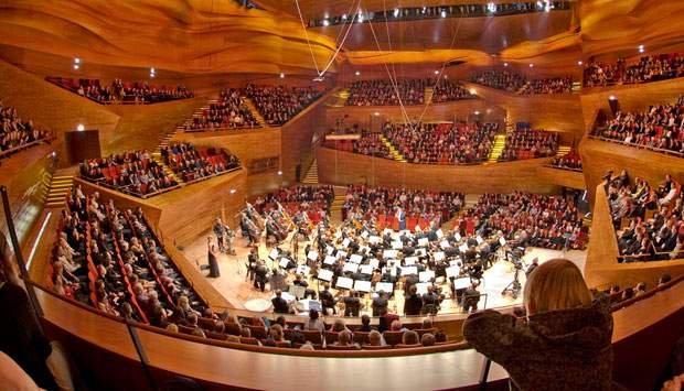 Intérieur Concert Hall, Koncerthuset côté opposé