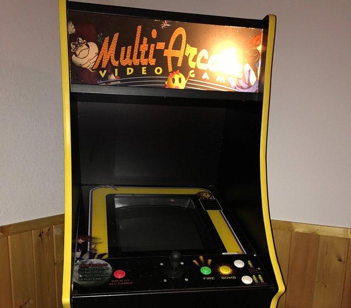 60 classic game arcade machine
