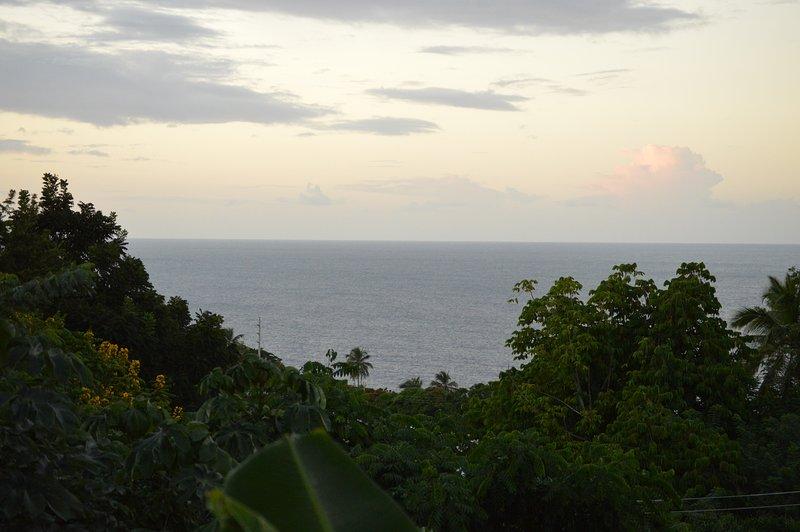 karibisk havsutsikt