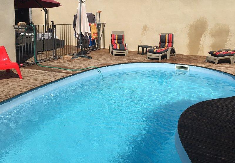 Vacances en famille sans voiture, vacation rental in Carpentras