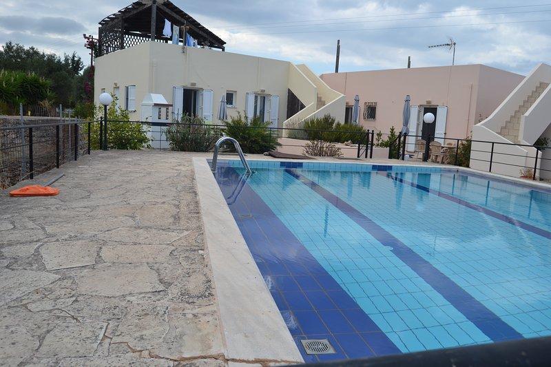 Crete Villa Rental in Drapanos Village, vacation rental in Aspro