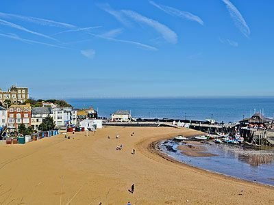 Viking Bay within 2 minute walk from Chapel view
