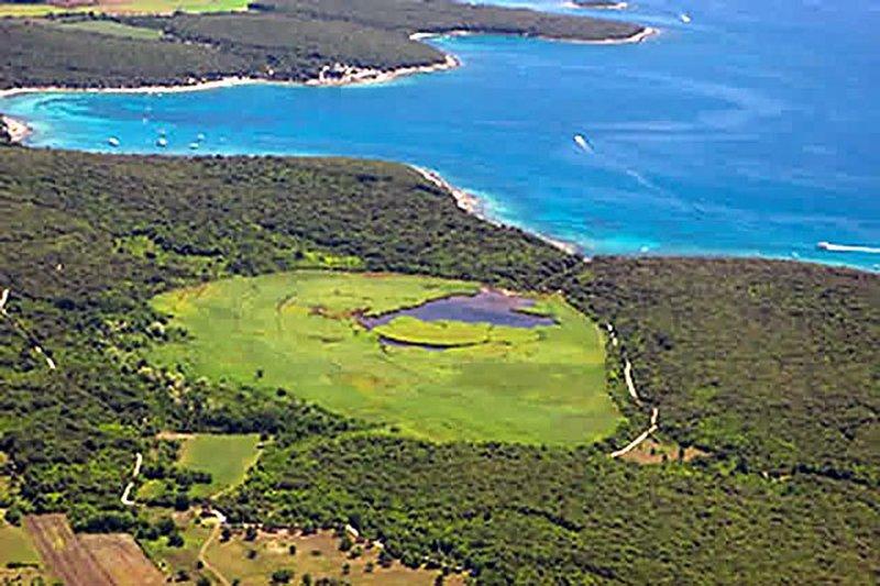 reserva ornitológica Palud - Birdwatching - área local