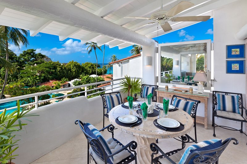 Glitter Bay Estate 409-The Penthouse - Patio avec vue sur la piscine
