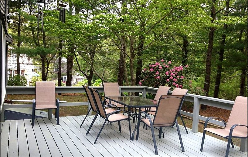 Another view of the deck