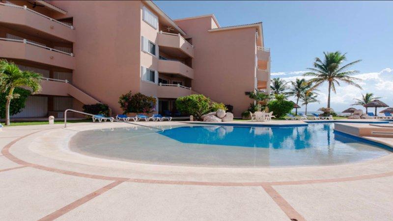 Riviera Maya Haciendas, Alta Vista - Sulla spiaggia piscina e terrazza