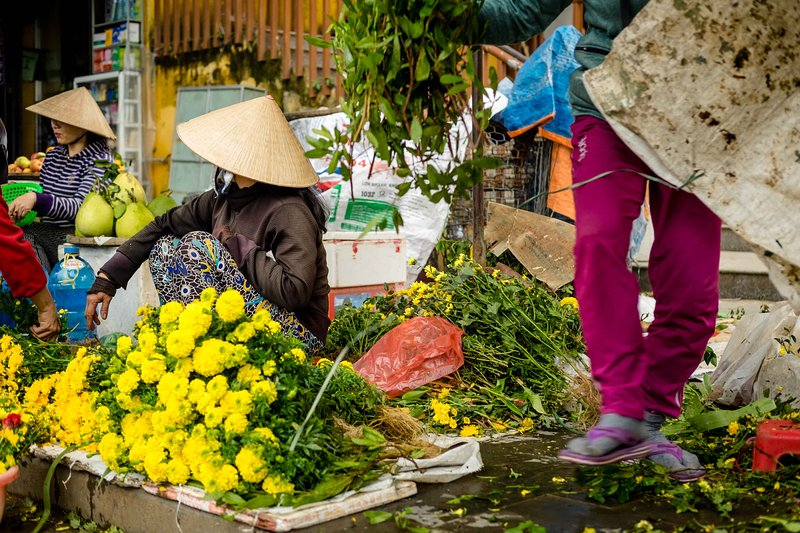 mercado de Hoi An