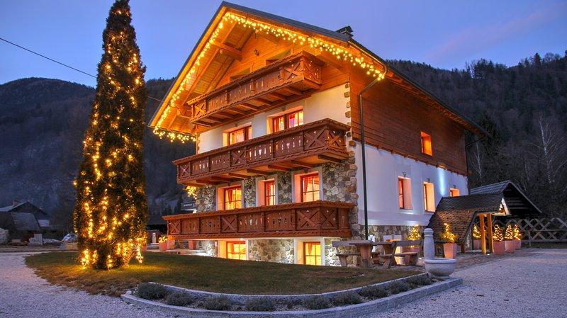2 bedroom apartment in Villa Flora with balcony (3-6 people), holiday rental in Srednji Vrh