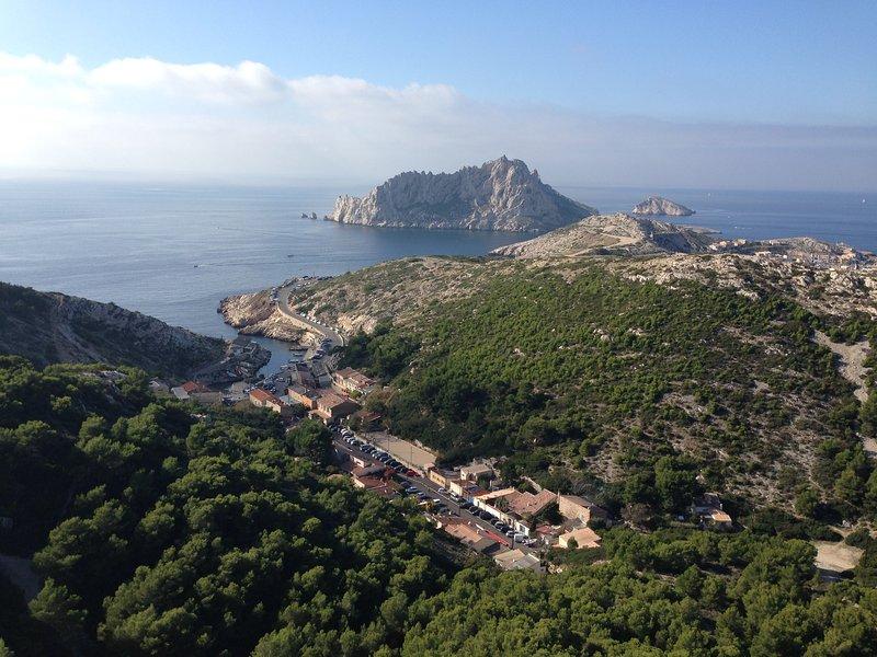 La Maison des Calanques, location de vacances à Marseille