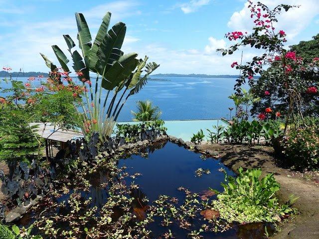 Panorama desde el jardín