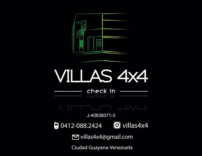 VILLAS 4X4, holiday rental in Ciudad Guayana
