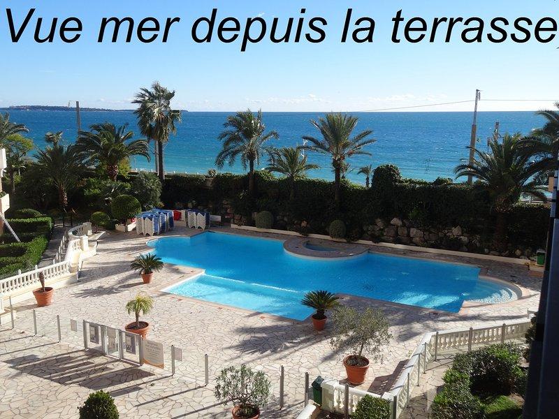 Cannes beautiful sea view 100 m beach, alquiler de vacaciones en Cannes