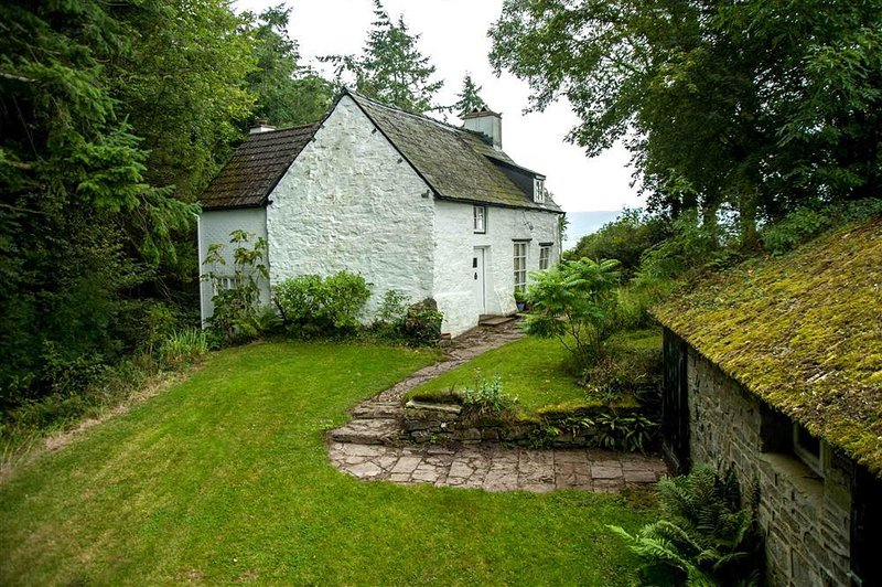 Audreys Cottage Exterior Brecon Beacons Holiday Cottages