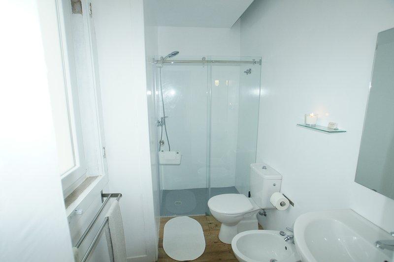 Sala de baño Praia das Macas